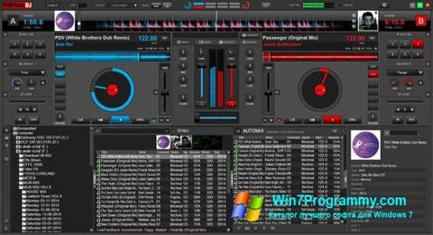 Скриншот программы Virtual DJ для Windows 7