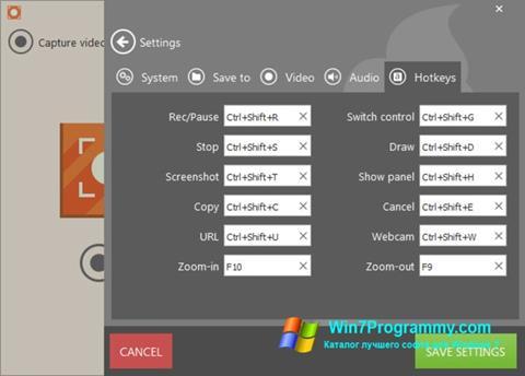 Скриншот программы Icecream Screen Recorder для Windows 7