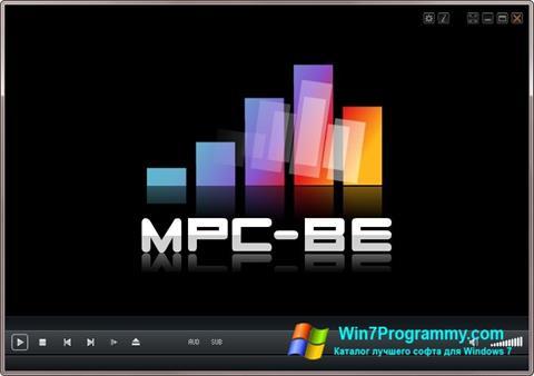 Скриншот программы MPC-BE для Windows 7