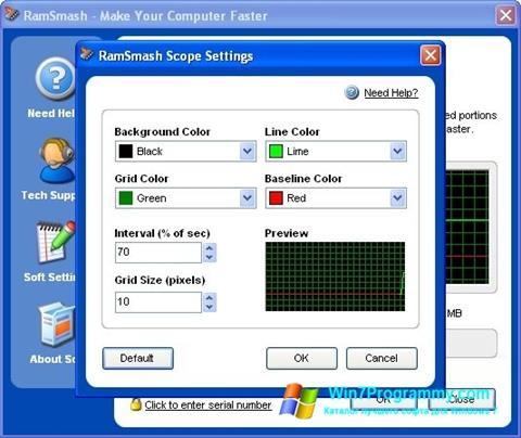 Скриншот программы RamSmash для Windows 7