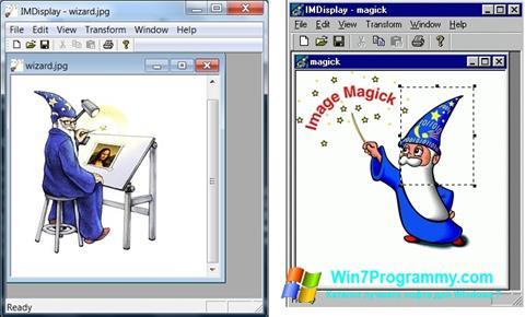 Скриншот программы ImageMagick для Windows 7