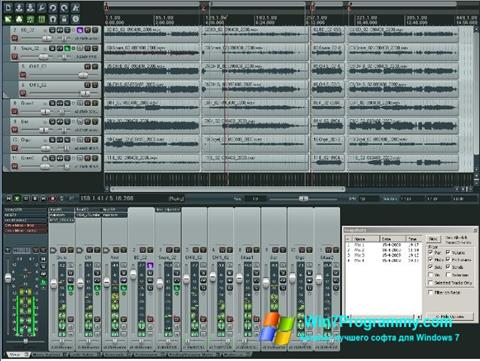 Скриншот программы REAPER для Windows 7