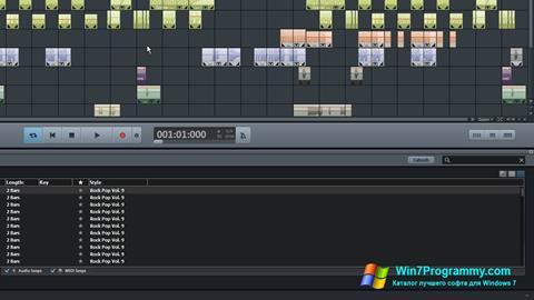 Скриншот программы MAGIX Music Maker для Windows 7