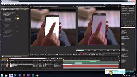Скриншот программы Adobe After Effects для Windows 7