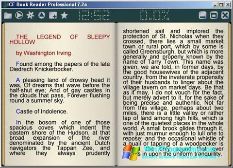 Скриншот программы ICE Book Reader для Windows 7