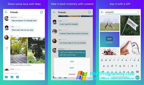 Скриншот программы Yahoo! Messenger для Windows 7