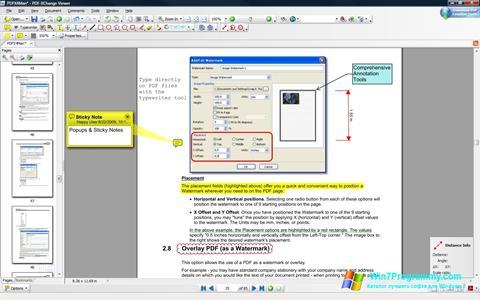 Скриншот программы PDF-XChange Viewer для Windows 7