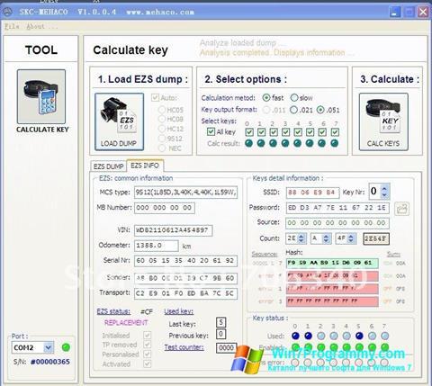 Скриншот программы Super calculator для Windows 7