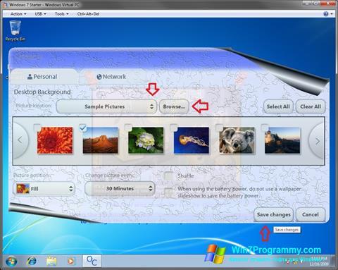 Скриншот программы Starter для Windows 7