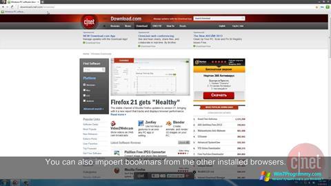 Скриншот программы Comodo Dragon для Windows 7