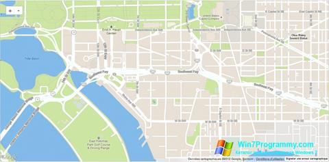Скриншот программы Google Maps для Windows 7