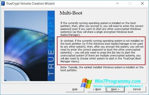 Скриншот программы MultiBoot для Windows 7