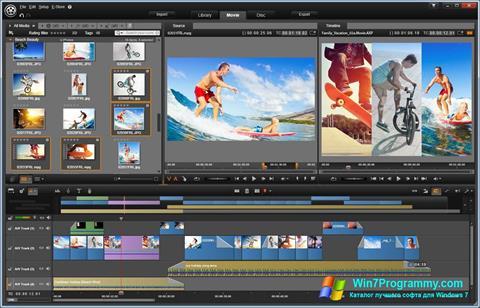 Скриншот программы Pinnacle Studio Ultimate для Windows 7