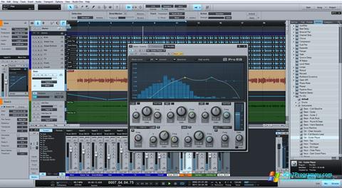 Скриншот программы Studio One для Windows 7