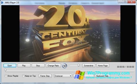 Скриншот программы MKV Player для Windows 7