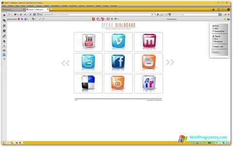 Скриншот программы Opera AC для Windows 7