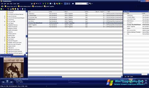 Скриншот программы MediaMonkey для Windows 7
