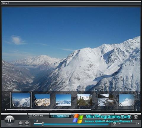 Скриншот программы Crystal Player для Windows 7