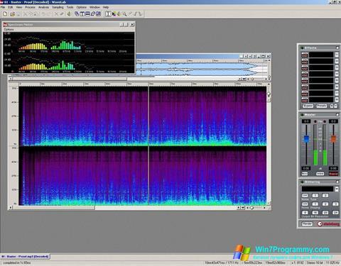 Скриншот программы WaveLab для Windows 7
