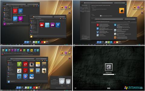 Скриншот программы Nox vs Windows IconPack Installer для Windows 7