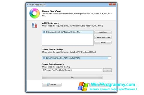 Скриншот программы Doc Viewer для Windows 7