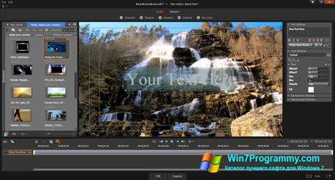 Скриншот программы Pinnacle Studio для Windows 7
