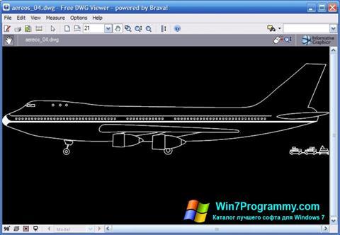 Скриншот программы DWG Viewer для Windows 7