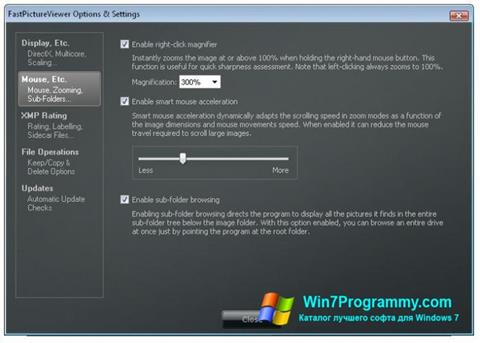 Скриншот программы FastPictureViewer для Windows 7