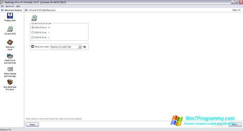 Скриншот программы BadCopy Pro для Windows 7