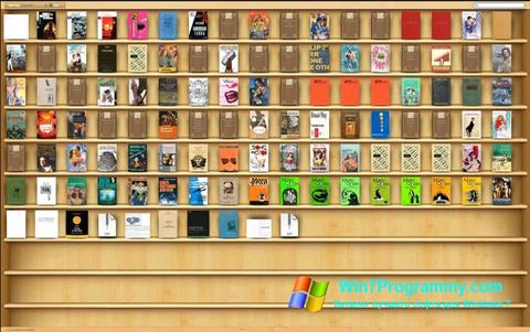 Скриншот программы Bookshelf для Windows 7