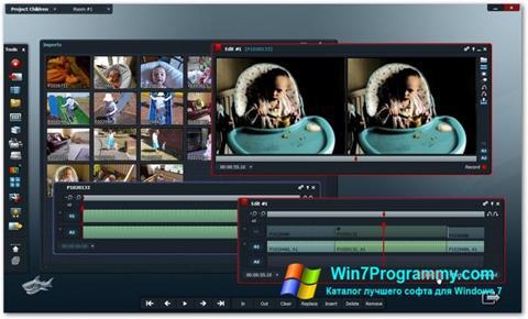 Скриншот программы Lightworks для Windows 7