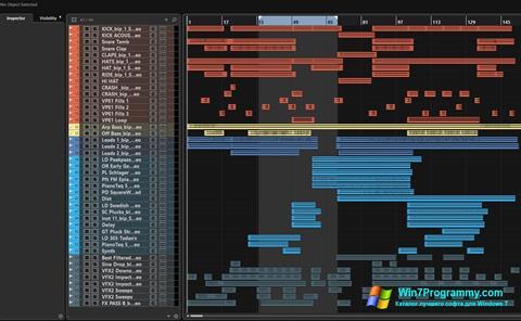 Скриншот программы Nuendo для Windows 7