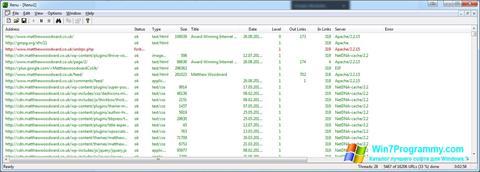 Скриншот программы Xenu для Windows 7