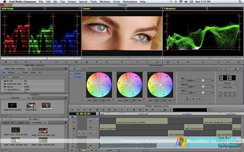 Скриншот программы Avid Media Composer для Windows 7