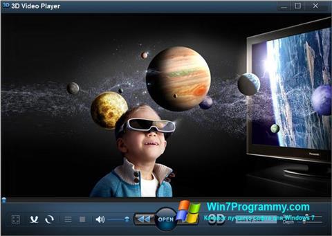 Скриншот программы 3D Video Player для Windows 7