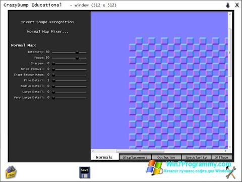Скриншот программы CrazyBump для Windows 7