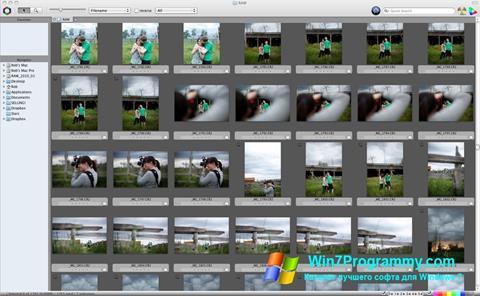 Скриншот программы Photo Mechanic для Windows 7