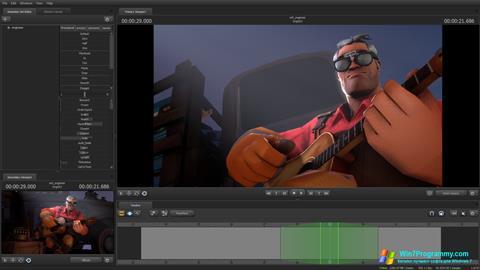 Скриншот программы Source Filmmaker для Windows 7