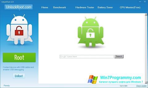 Скриншот программы Unlock Root для Windows 7