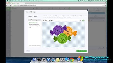 Скриншот программы Image Cut для Windows 7