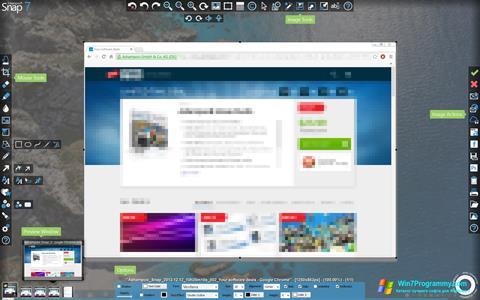 Скриншот программы Ashampoo Snap для Windows 7