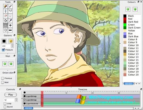 Скриншот программы Pencil для Windows 7