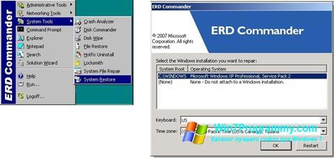 Скриншот программы ERD Commander для Windows 7