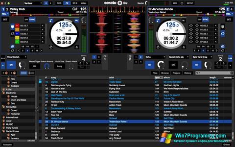 Скриншот программы Serato DJ для Windows 7