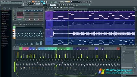 Скриншот программы FL Studio для Windows 7