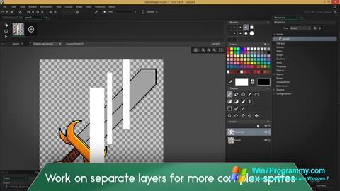 Скриншот программы Game Maker для Windows 7