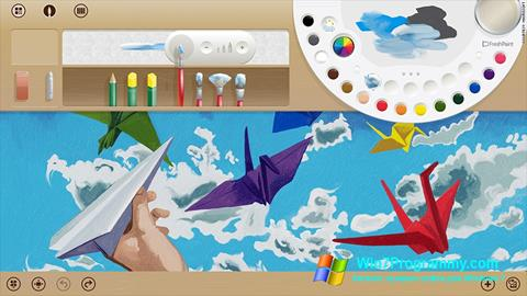 Скриншот программы Fresh Paint для Windows 7
