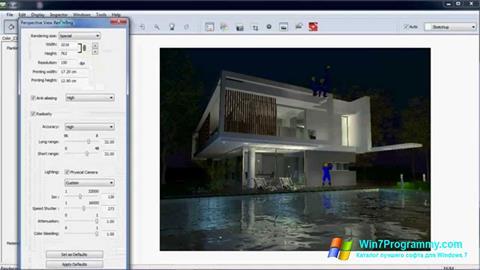 Скриншот программы Artlantis Studio для Windows 7