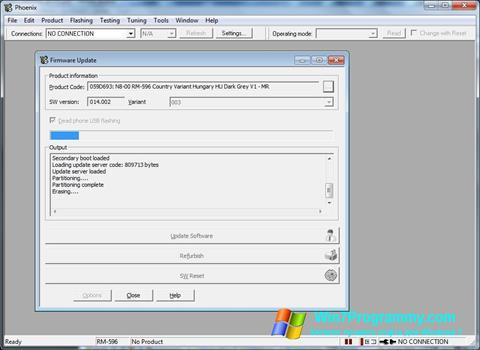 Скриншот программы Phoenix для Windows 7