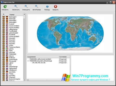 Скриншот программы Vidalia Bundle для Windows 7